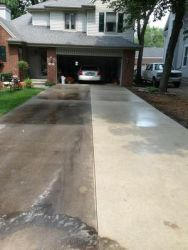 200 degree water and 3800 PSI we can make it look like new!!